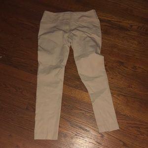 Ann Taylor loft pants Marisa skinny 6 khaki